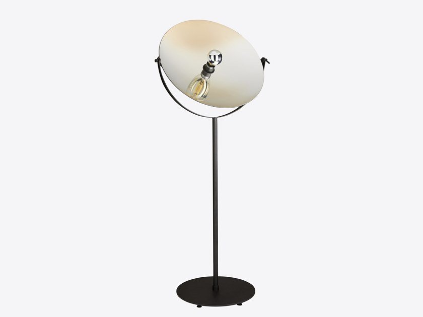 Direct light adjustable metal floor lamp CYCLOPE | Floor lamp by RADAR INTERIOR