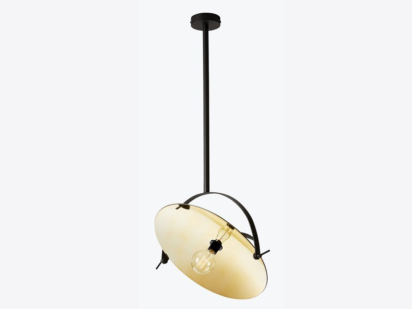 Direct light swivel metal pendant lamp CYCLOPE | Pendant lamp by RADAR INTERIOR