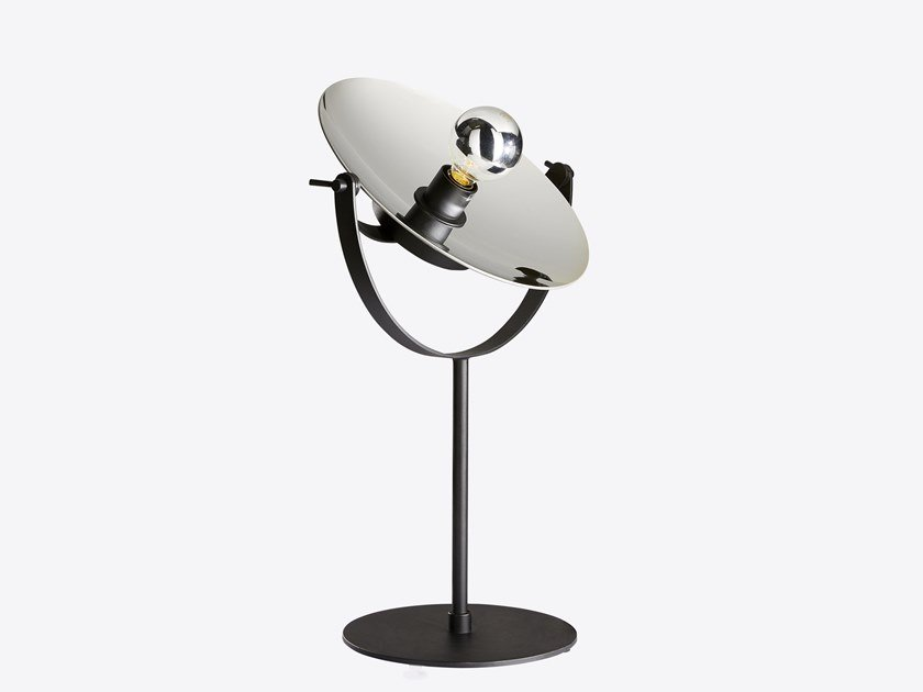 Contemporary style direct light adjustable metal table lamp CYCLOPE | Table lamp by RADAR INTERIOR
