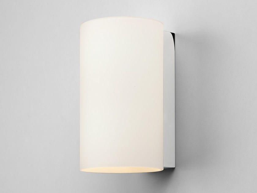 Applique in acciaio e vetro cyl 200 by astro lighting
