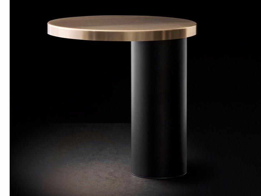 LED metal table lamp CYLINDA - 218 by Oluce