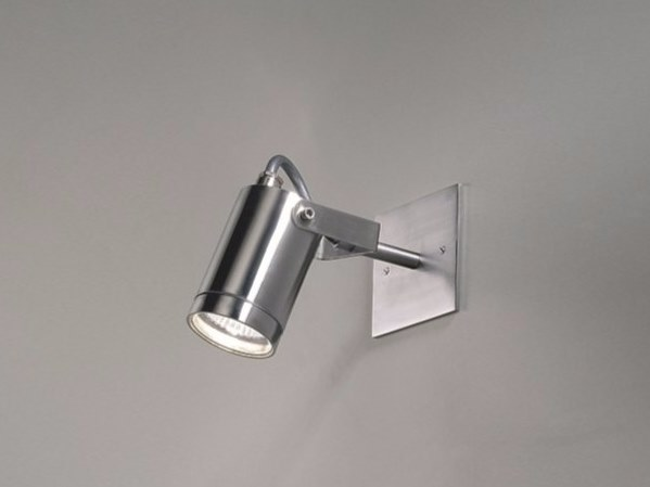 Adjustable stainless steel Outdoor floodlight CYLINDER 1-IN by BEL-LIGHTING