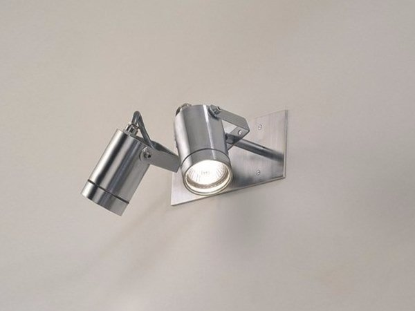 Adjustable stainless steel Outdoor floodlight CYLINDER 2-IN by BEL-LIGHTING
