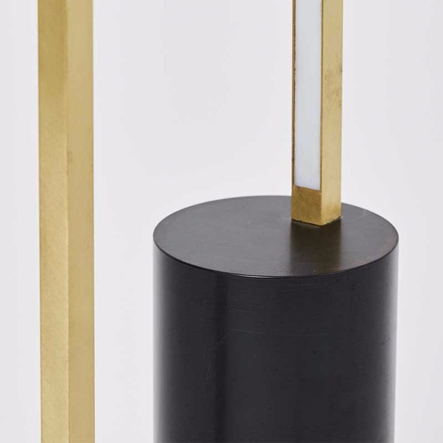 LED floor lamp CYLINDER LAMP By Kristina Dam Studio