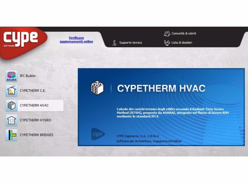 Energy certification CYPETHERM LOADS - carichi termici by INTERSTUDIO
