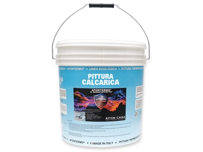 Breathable water-based paint Calcareous painting by AFON CASA