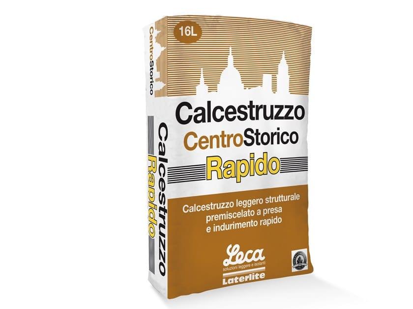 Calcestruzzo leggero strutturale a rapido indurimento CALCESTRUZZO RAPIDO by Laterlite