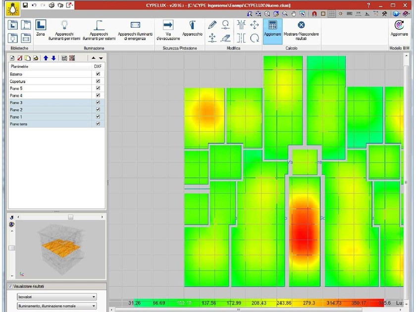 Electrical, electro-technical building services design Electro-technical building software by ATH ITALIA software
