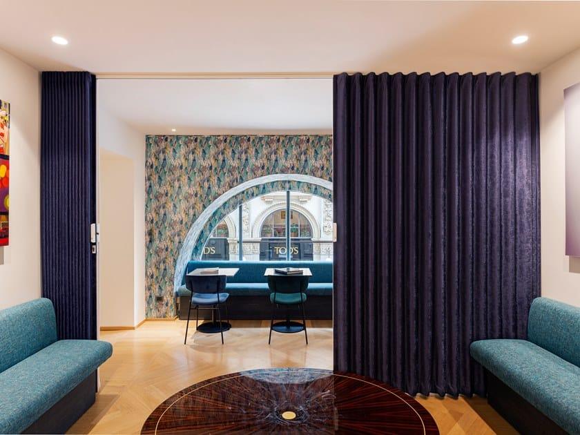 Porta tessile Porta con apertura centrale centrata by dooor