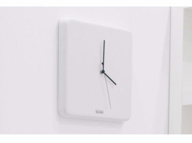 Wall-mounted ceramic clock Ceramic clock by GSG Ceramic Design