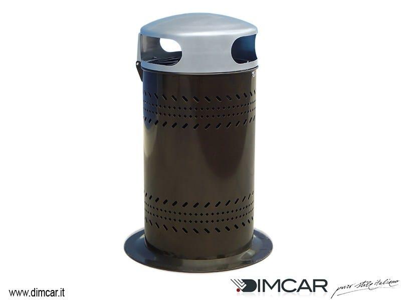 Litter bin with lid Cestone Damasco by DIMCAR