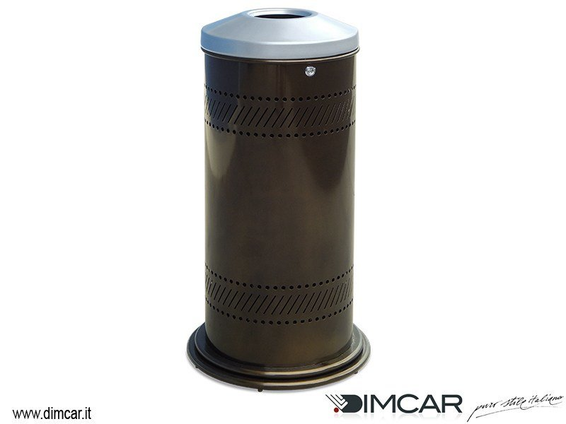 Litter bin with lid Cestone Virtus by DIMCAR