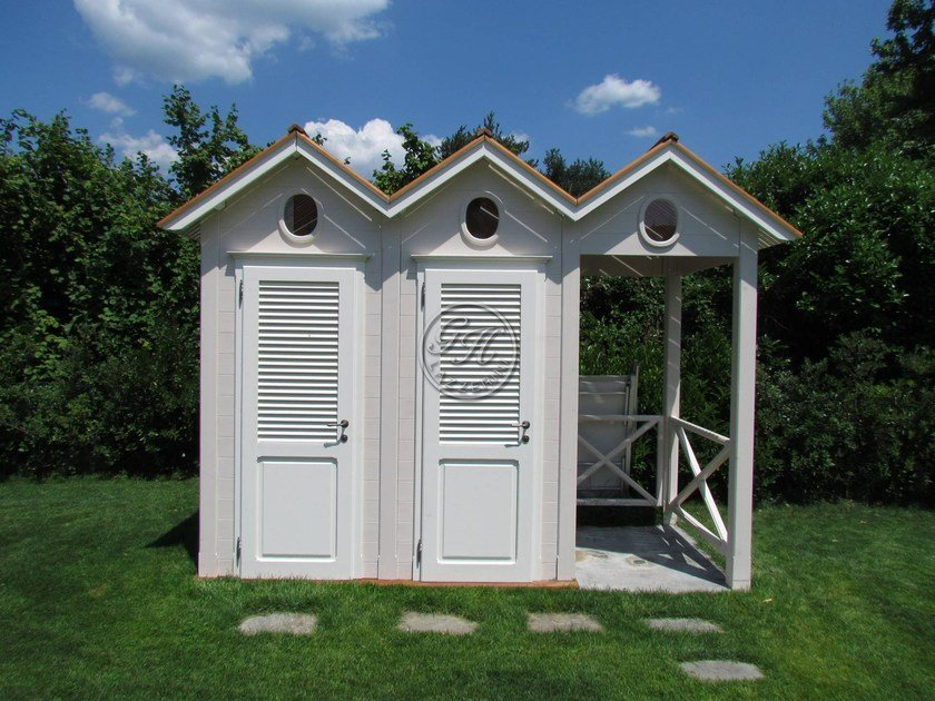 Wooden Garden shed Changing room by GH LAZZERINI