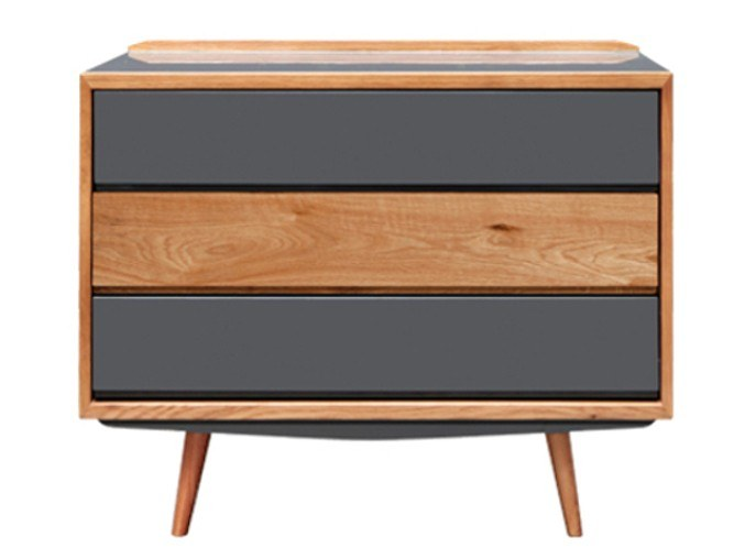 50s style oak chest of drawers Chest of drawers by RED EDITION