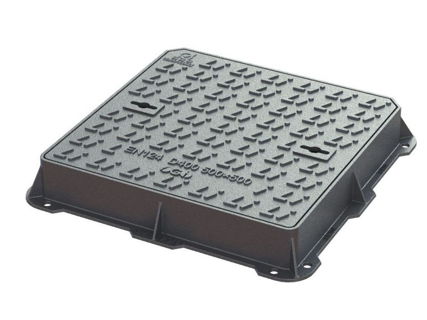 Manhole cover and grille for plumbing and drainage system D400 by LINK industries