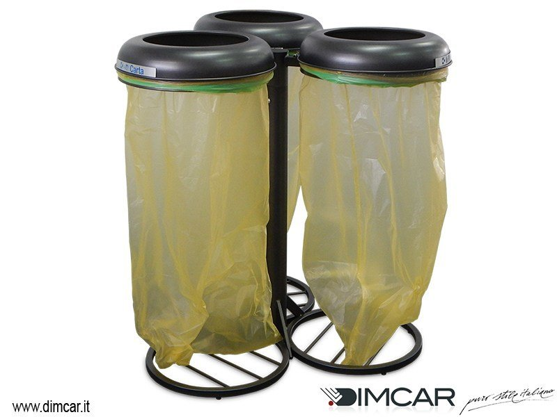 Portarifiuti per raccolta differenziata Clean MAXI by DIMCAR