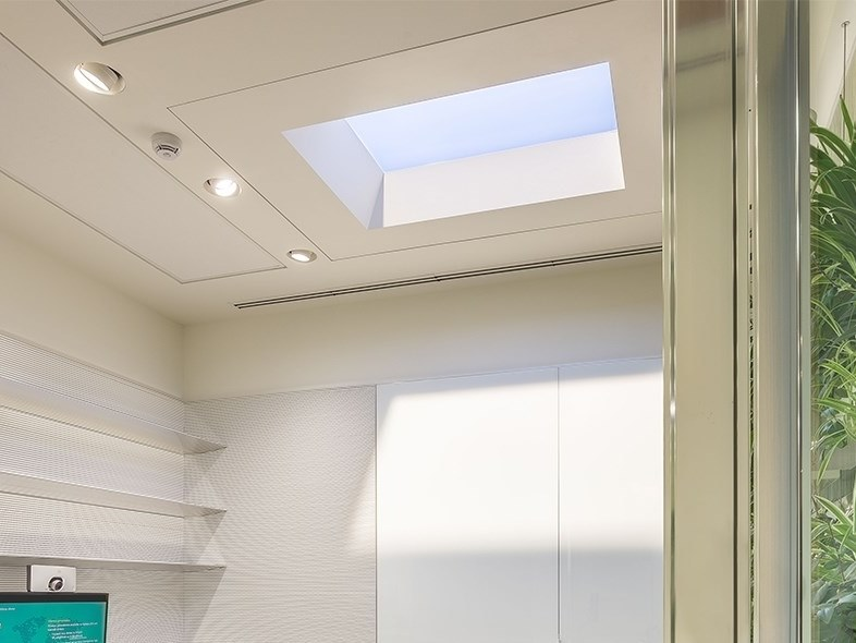 Artificial window for ceiling installation CoeLux® 45 LC by CoeLux