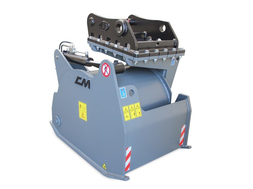 Accessories for construction site machinery Cold Planer for excavator by C.M. di Carollo