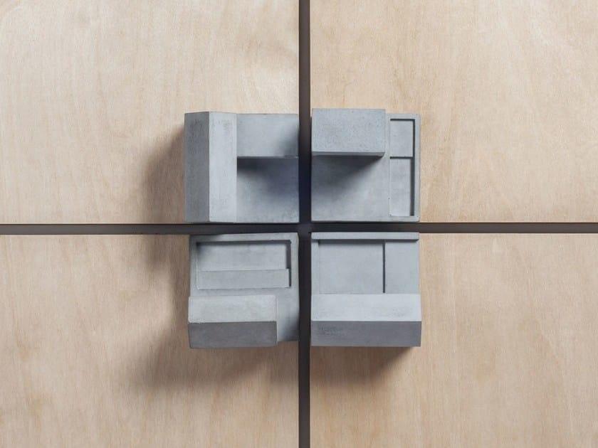 Concrete Furniture knob / architectural model Community #2 by mim studio