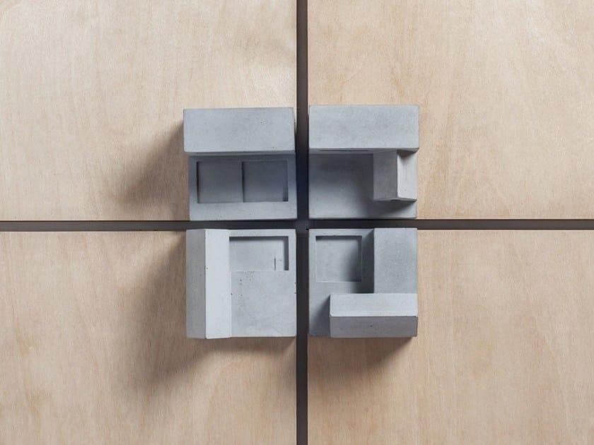 Pomello / modellino architettonico in calcestruzzo Community #3 by mim studio
