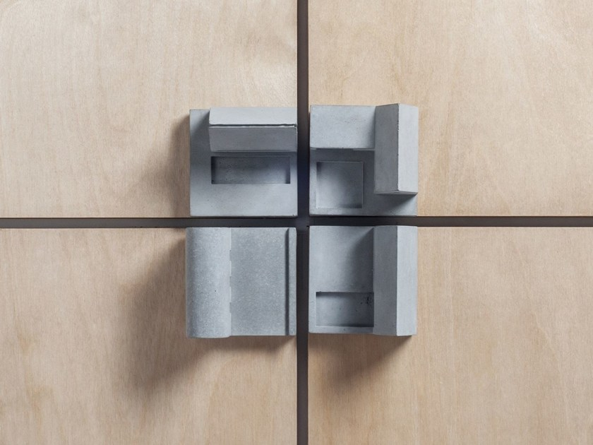 Concrete Furniture knob / architectural model Community #6 by mim studio