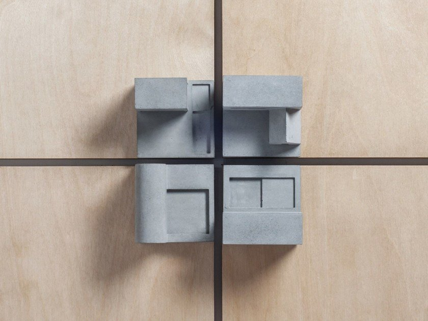 Concrete Furniture knob / architectural model Community #7 by mim studio