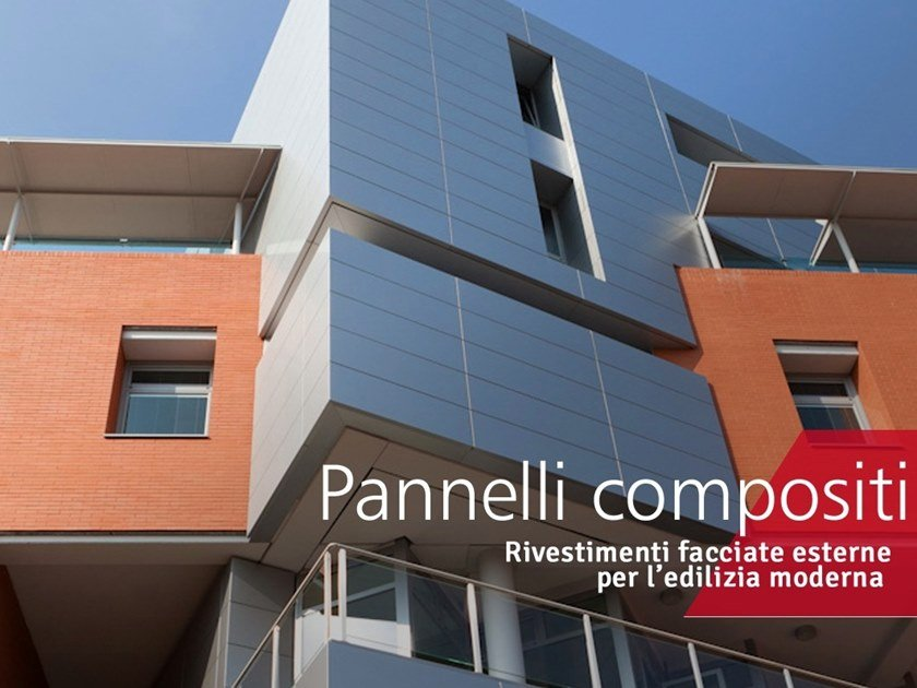 Insulated metal panel for facade Composite panels by Decoral® GROUP