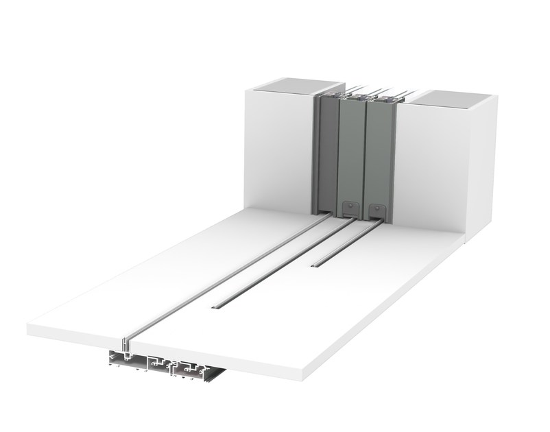 CP 130- LS Pocket Solution + zero threshold + 3-rail - closed