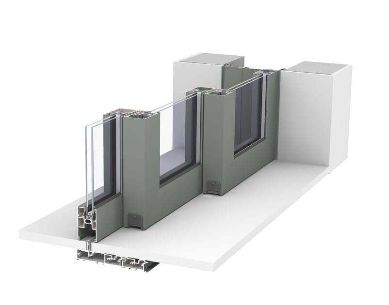 CP 130- LS Pocket Solution + zero threshold + 3-rail - open