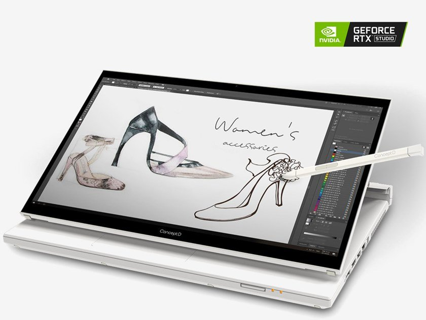 Laptop ConceptD 7 Ezel by ConceptD