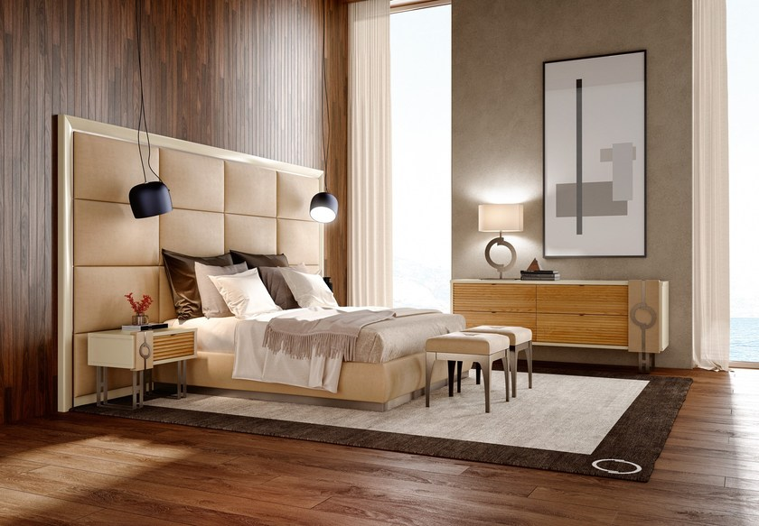 Contemporary style wooden bedroom set NATURAL CHIC MOOD | Bedroom set by Caroti