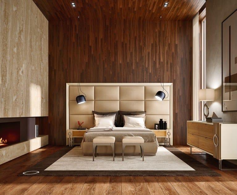 Camera Da Letto Legno Naturale : Camera da letto in legno in stile moderno natural chic mood