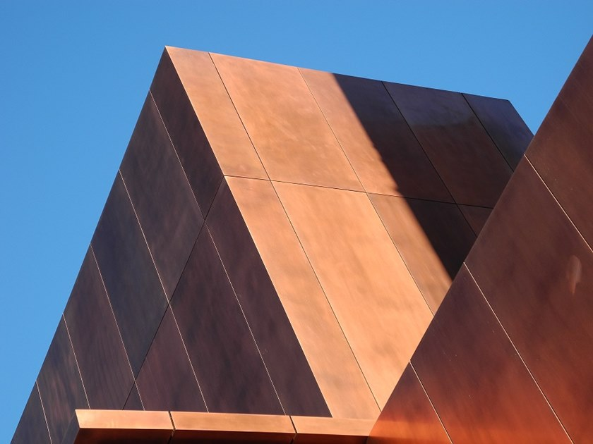 Copper Panel for facade Copper Panel for facade by Cantori Alluminio
