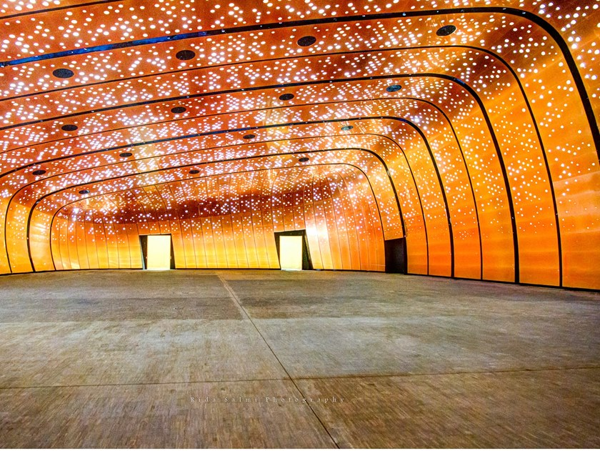 Copper wall tiles Copper wall tiles by Cantori Alluminio