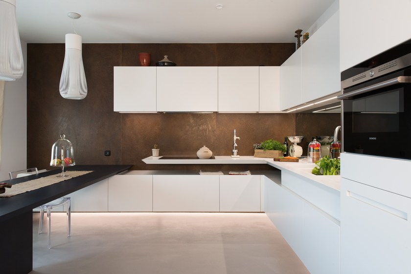 Corian® kitchen By TM Italia Cucine