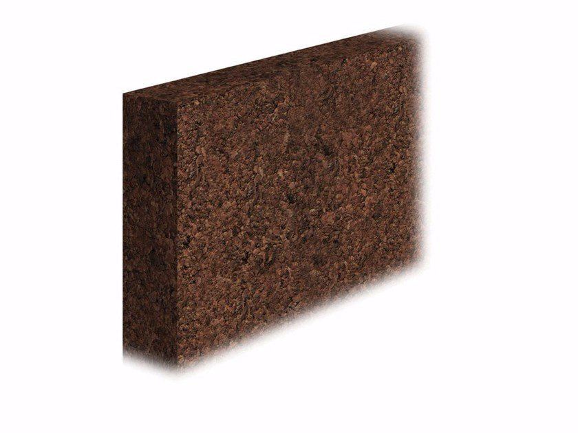 Cork thermal insulation panel Cork thermal insulation panel by FASSA