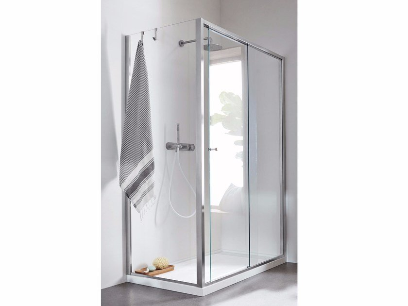 Corner Shower Enclosure with sliding door Corner Shower Enclosure ...