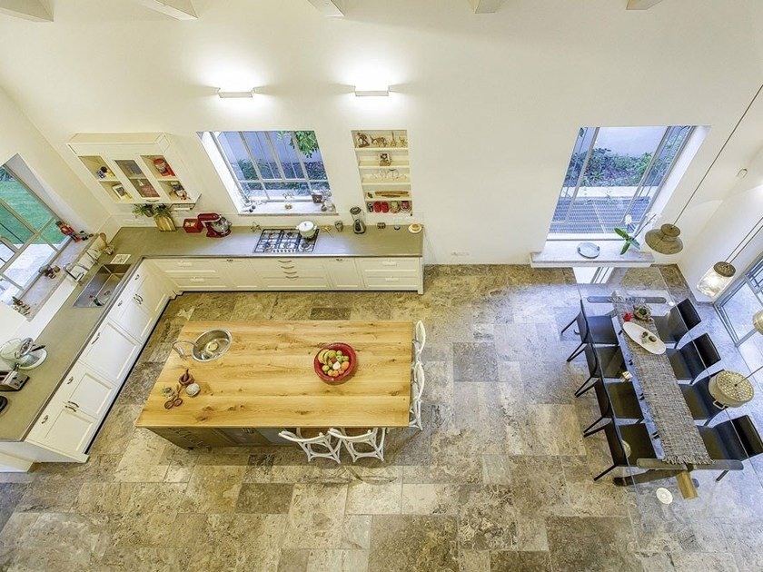 Lackierte Einbauküche mit Kücheninsel CUCINA DA SOGNO By Marchi Cucine