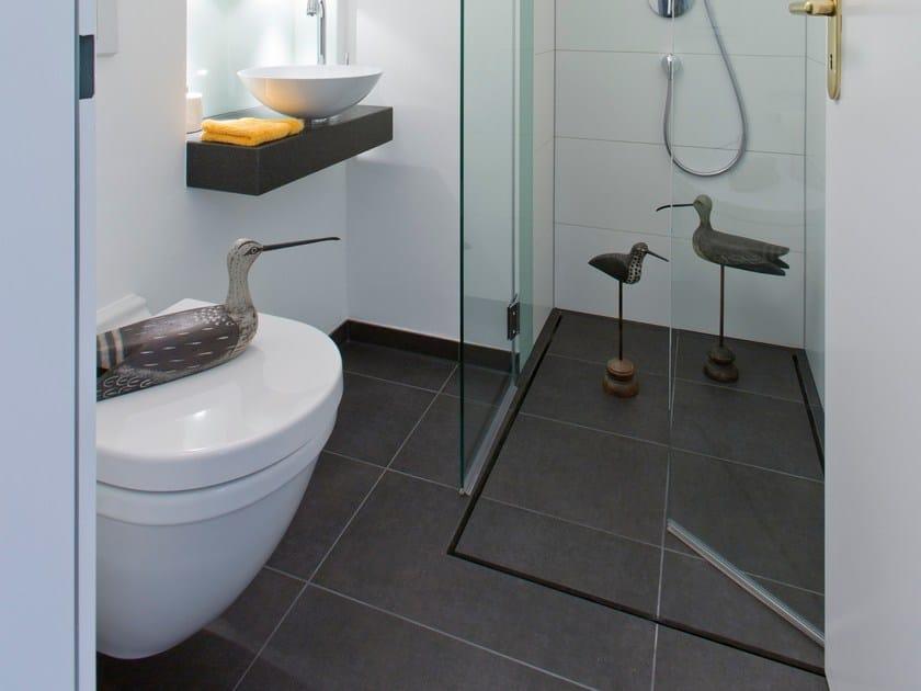 Flush fitting shower tray by baqua - Piatto doccia piastrellabile ...