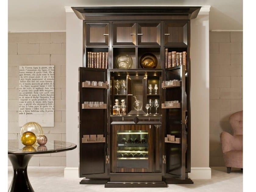 Credenza Con Cantinetta : Cantinetta frigo mobile bar in legno oyster by l ottocento