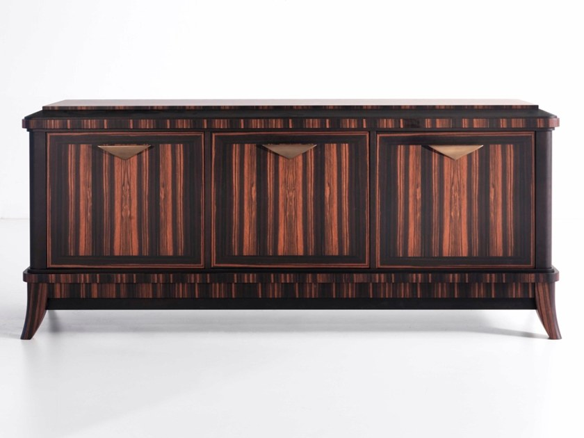 Ebony sideboard with doors D 1587 | Sideboard by Annibale Colombo