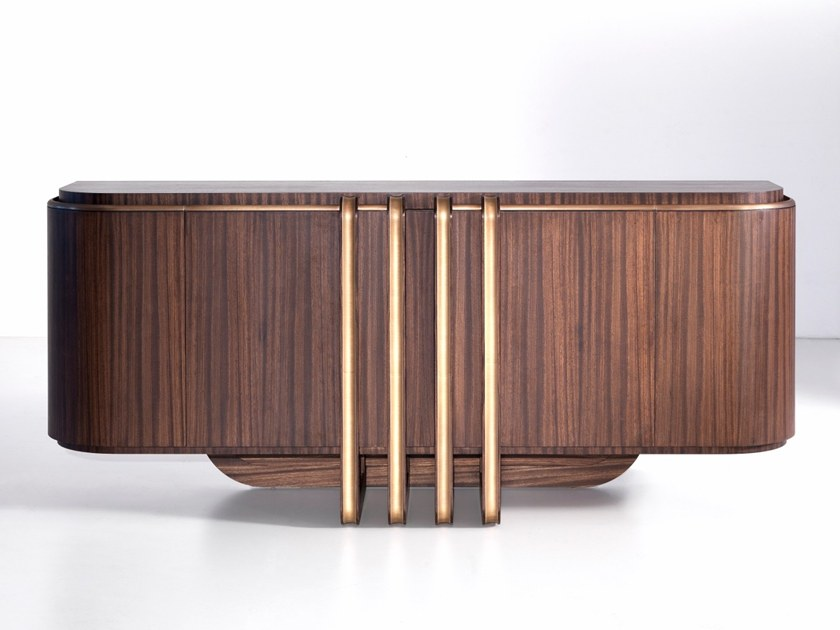 Zebrano sideboard with doors D 1591   Sideboard by Annibale Colombo  sc 1 st  Archiproducts & D 1591   Sideboard By Annibale Colombo