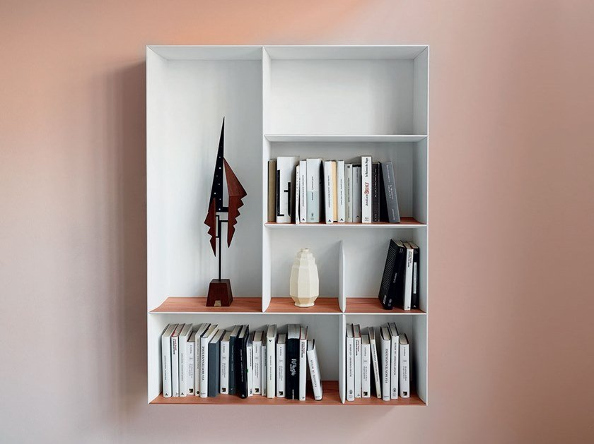Libreria sospesa in multistrato D.357.2 by Molteni & C.