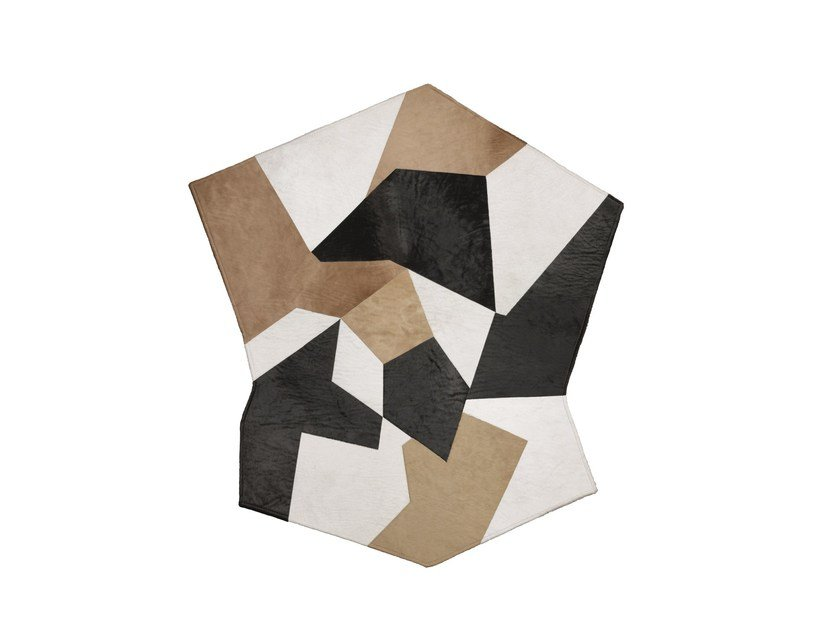 Leather rug D.754.1 | Rug by Molteni