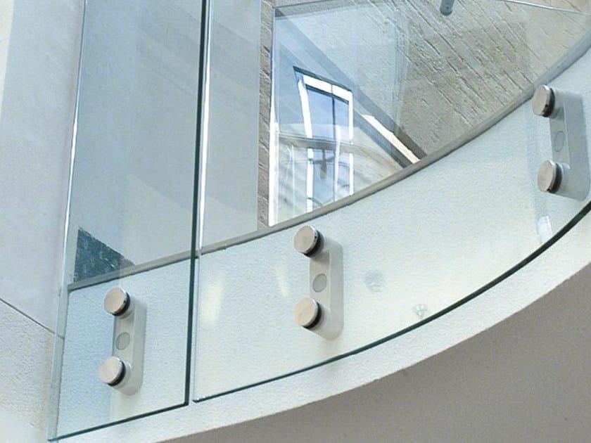 LED Window railing D LINE BLOK EASY GLASS by Q-RAILING ITALIA