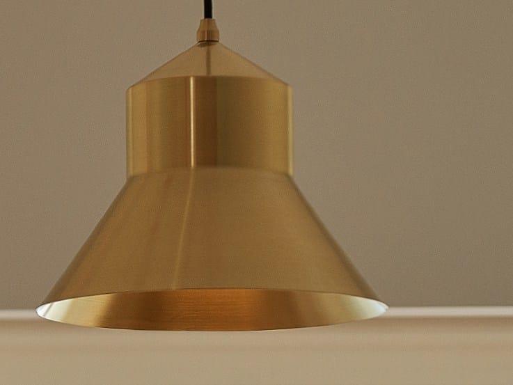 Lampada a sospensione a luce diretta in metallo D.PEDRO by Exporlux