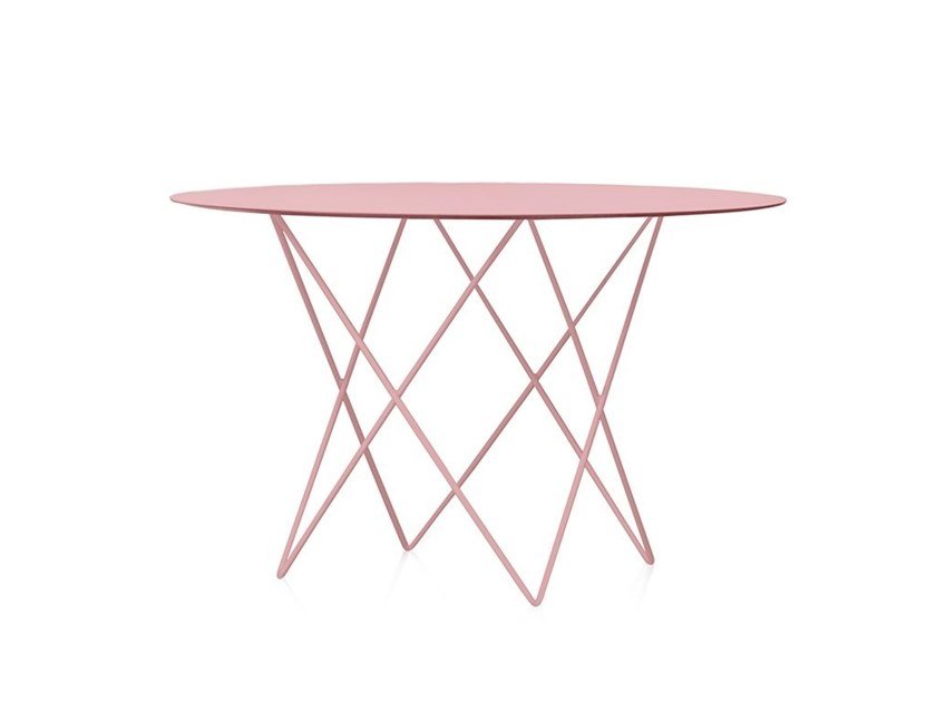 Round garden table D12 | Garden table by Diabla