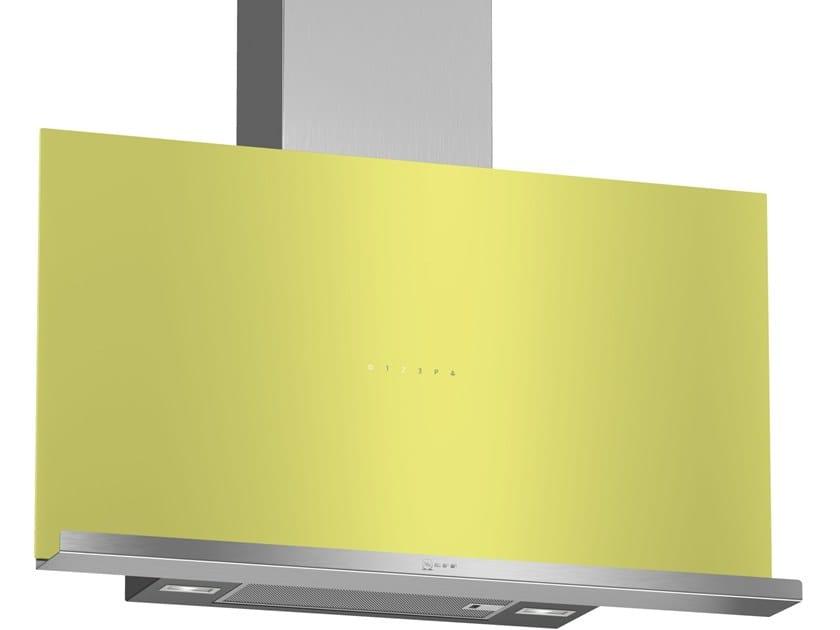 Class A wall-mounted cooker hood with perimetral aspiration D95FRM1G0 | Class A cooker hood by Neff