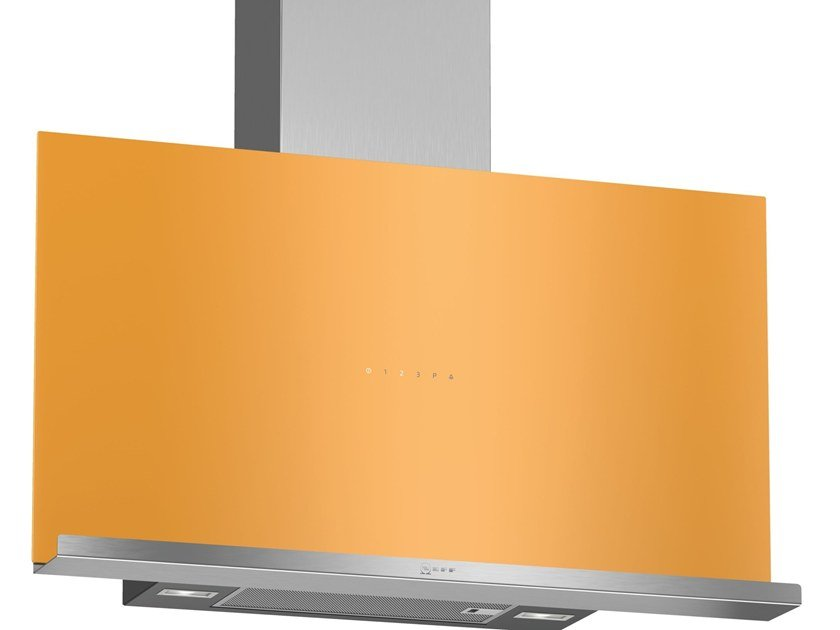 Class A wall-mounted cooker hood with perimetral aspiration D95FRM1H0 | Class A cooker hood by Neff