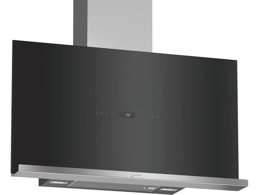 Class A wall-mounted cooker hood with perimetral aspiration D95FRW1S0 | Class A cooker hood by Neff